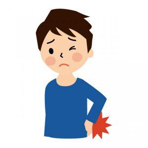 肩こりや腰痛の左右差について